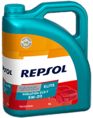 Repsol Elite Evolution Eco F 5w20, 5 Л