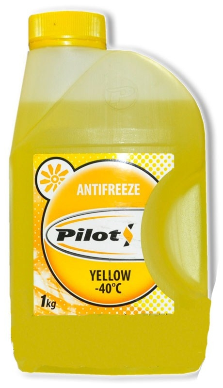 Антифриз PILOTS YELLOW LINE -40, 1 кг